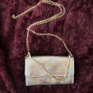 Handbags - Evening Clutch Crossbody Gold Chain Purse 👛